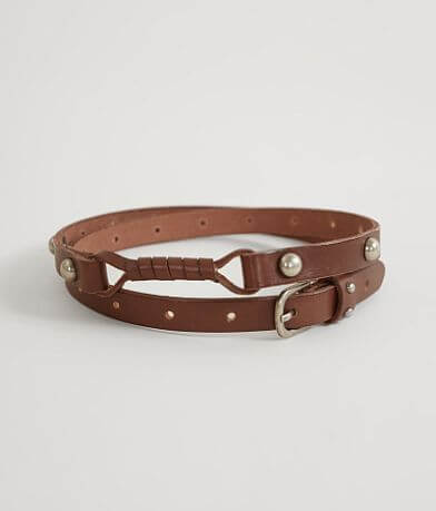 Indie Spirit Designs Skinny Leather Belt