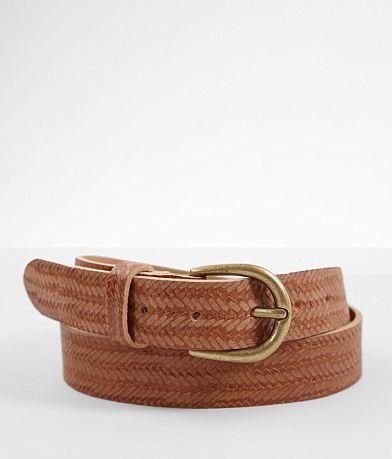 Indie Spirit Designs Braided Leather Belt
