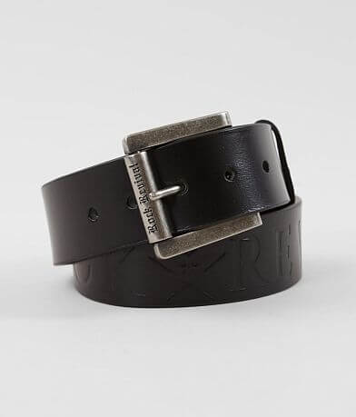 Rock Revival Debossed Leather Belt
