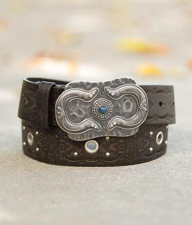 BKE Embossed Leather Belt