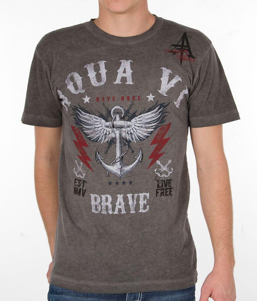Aqua VI Established T-Shirt front view