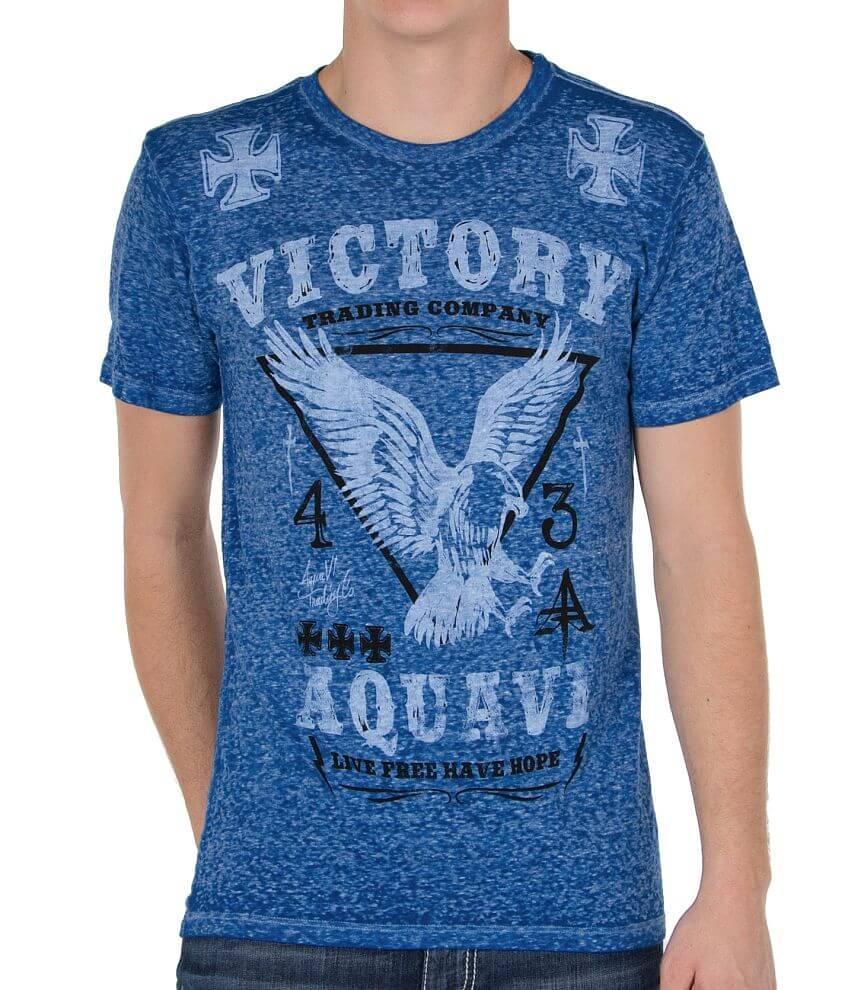 Aqua VI Victory T-Shirt front view