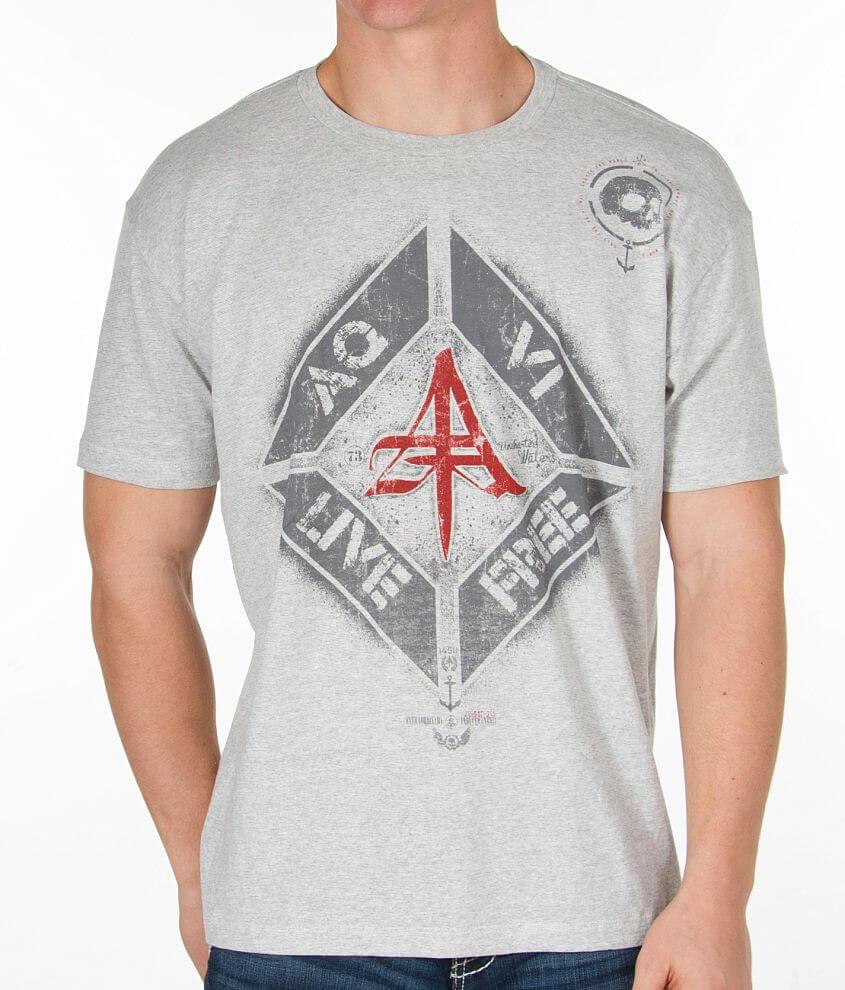 Aqua VI Gravels T-Shirt front view