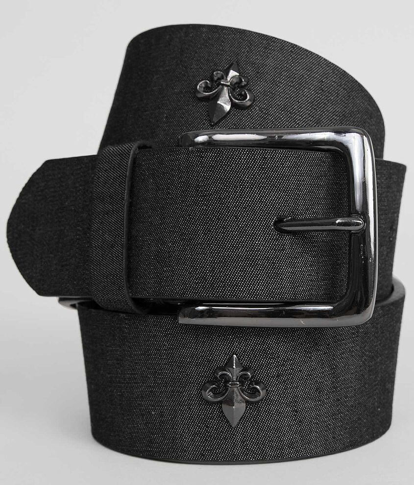 BKE Chambray Belt front view
