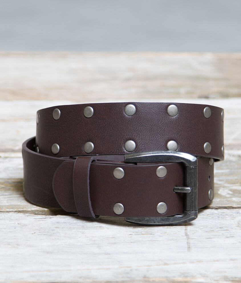 B Icon Studded Belt front view
