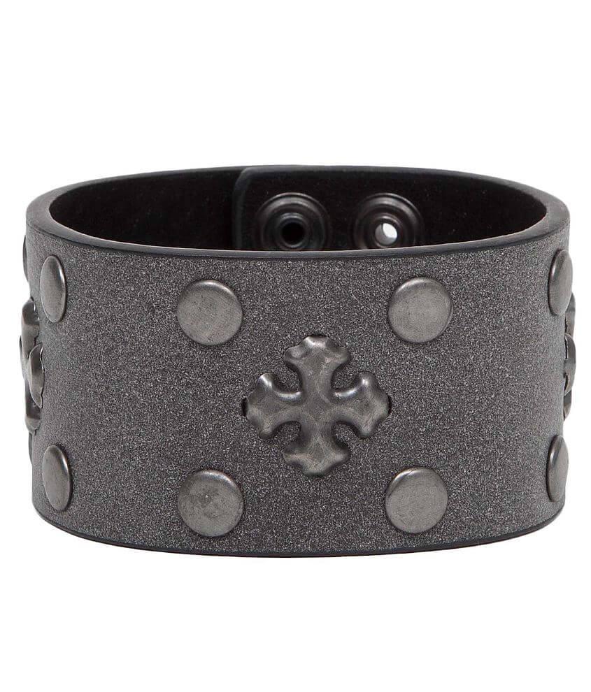 BKE Cross Bracelet front view
