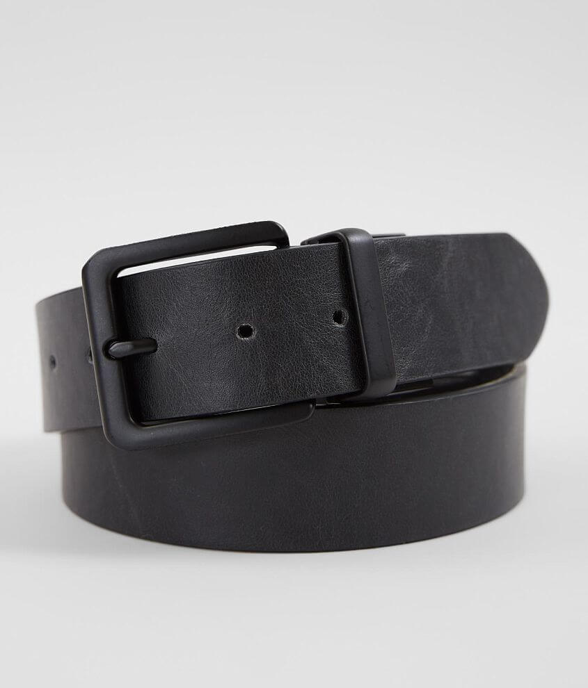 BKE Reversible Leather Belt front view