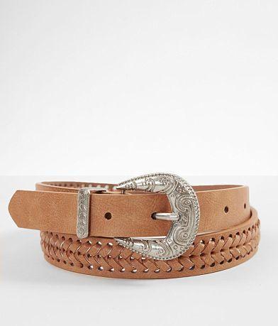 BKE Skinny Whipstitch Belt
