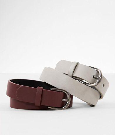 BKE Solid Duo Belt Set
