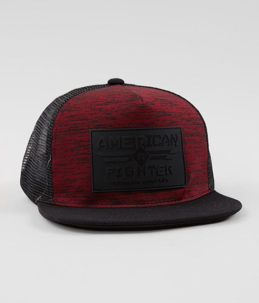 Rubber patch mock twist snapback hat One size fits most