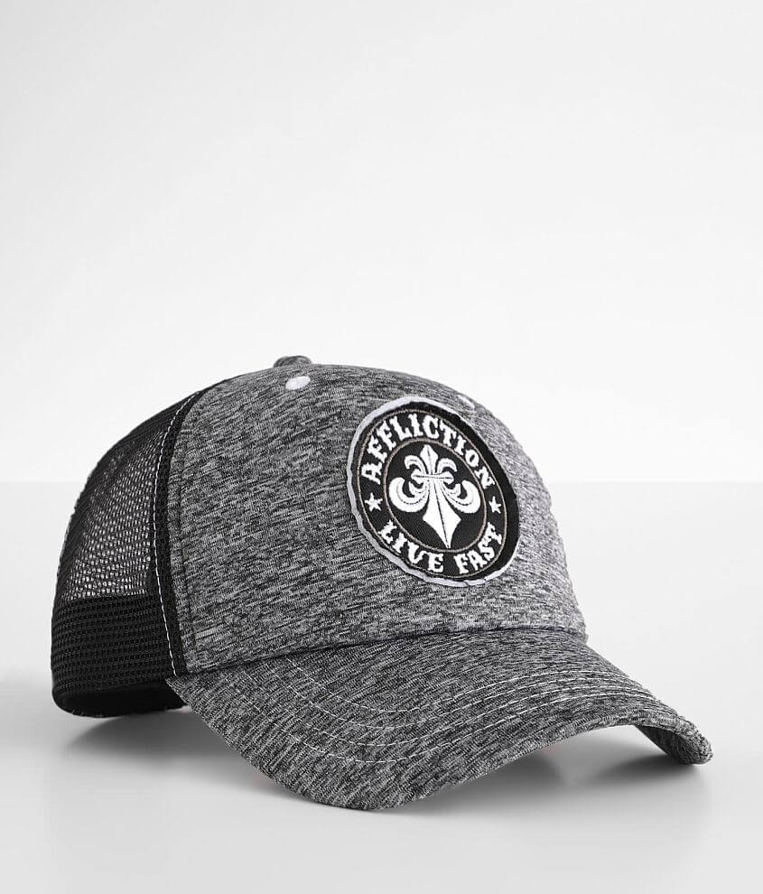 Affliction Live Fast Trucker Hat front view