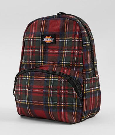 Dickies Plaid Mini Backpack