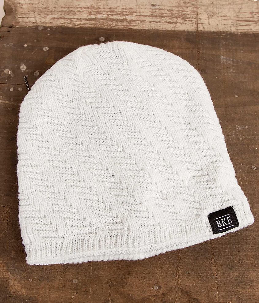 BKE Rover Reversible Beanie front view