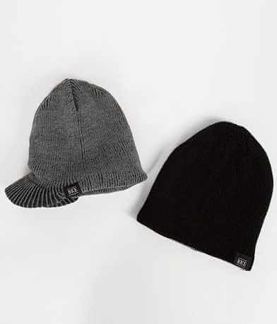 BKE Mullins Two Pack Beanies