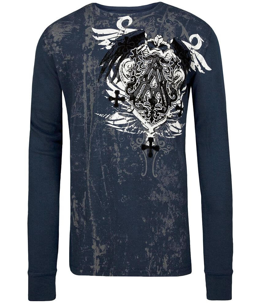 Archaic Eastbourne Thermal Shirt front view