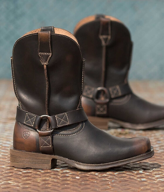 Ariat Rambler Boot - Men&39s Shoes in Brushed Brown | Buckle