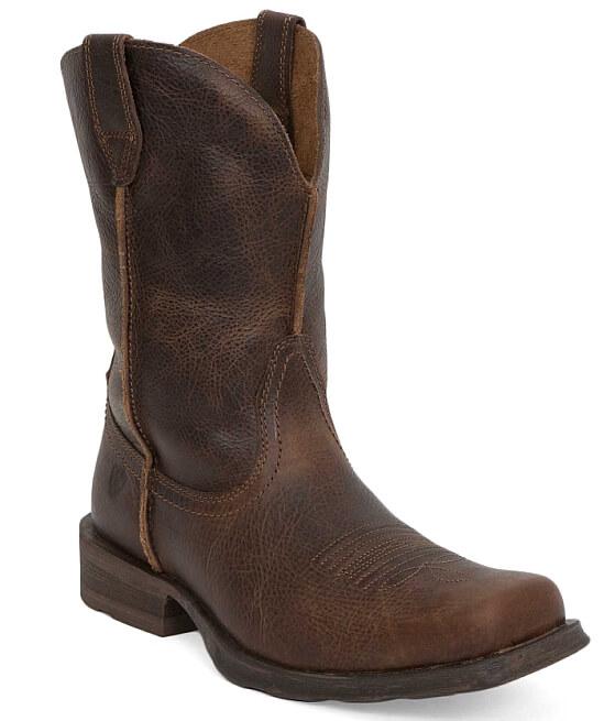 Ariat Rambler Boot - Men&39s Shoes in Wicker   Buckle