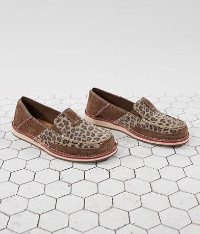 Ariat Cruiser Leopard Suede Shoe