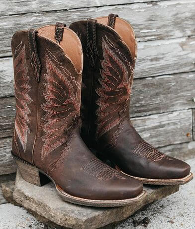 5c360eb3839b Ariat Autry Leather Western Boot