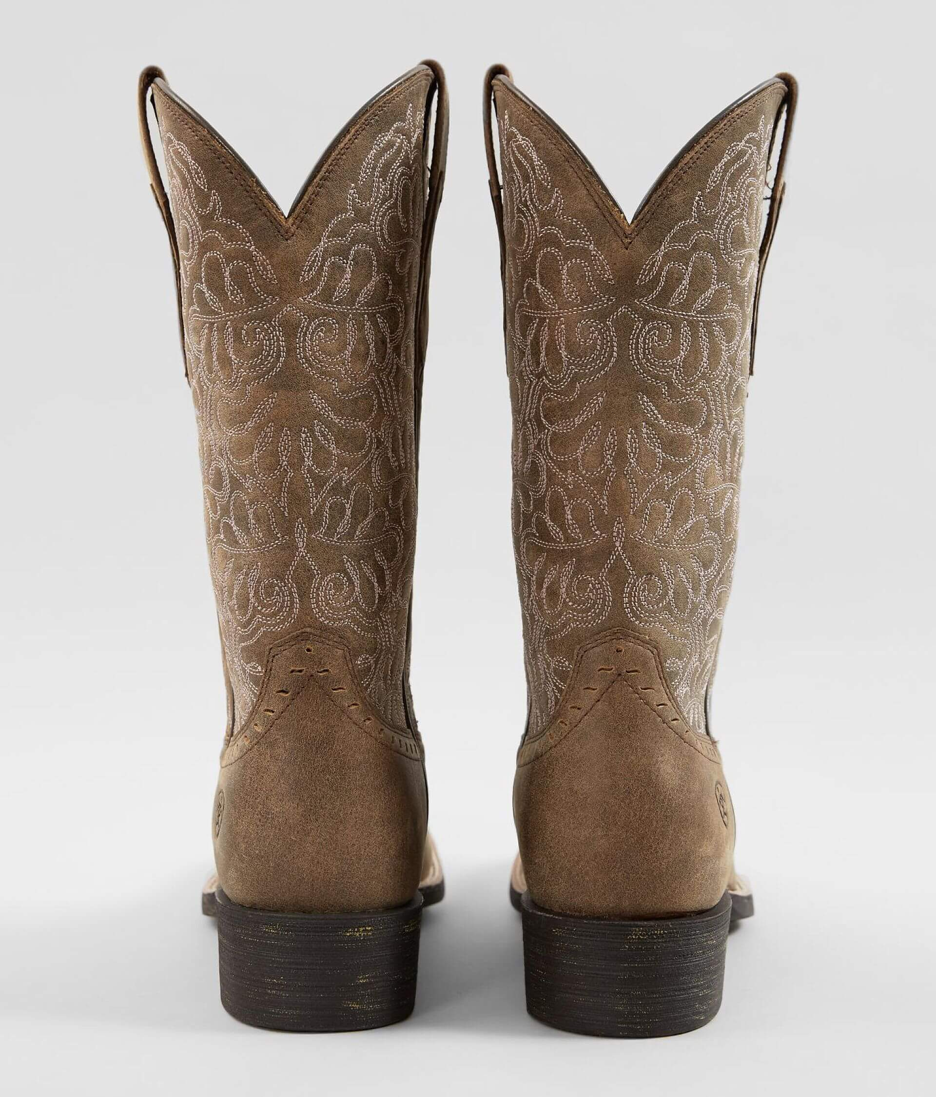 cef780a842d Ariat Round Up Remuda Leather Western Boot - Women's Shoes in Brown ...