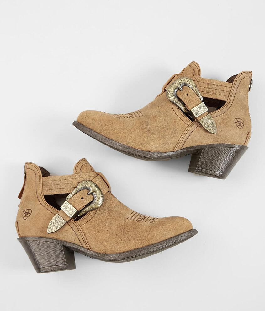 Ariat Dulce Leather Western Ankle Boot