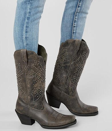 Ariat Lakyn Studded Leather Western Boot