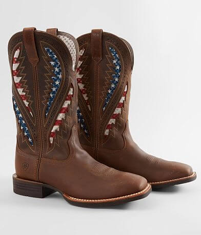 Ariat Quickdraw VenTEK™ Leather Cowboy Boot