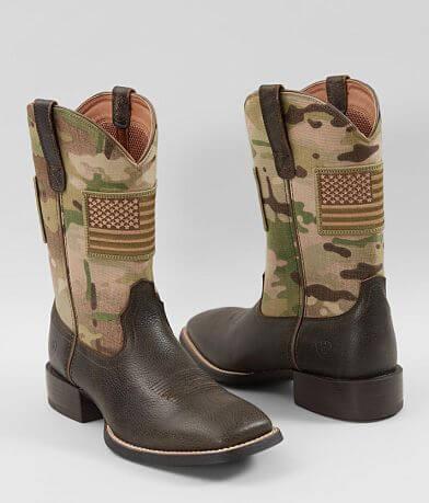 f9c3e62af4b Ariat Rambler Phoenix Leather Cowboy Boot - Men's Shoes in ...