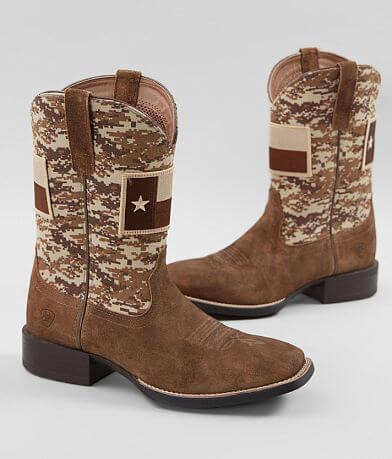 Ariat Texas Sport Patriot Leather Cowboy Boot