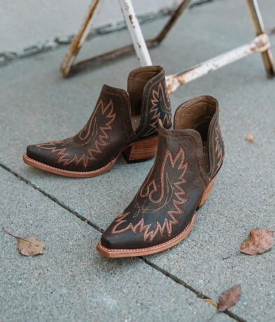 Ariat Dixon Leather Western Ankle Boot