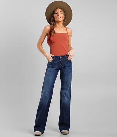 Ariat Kelsea Mid-Rise Wide Leg Trouser Jean