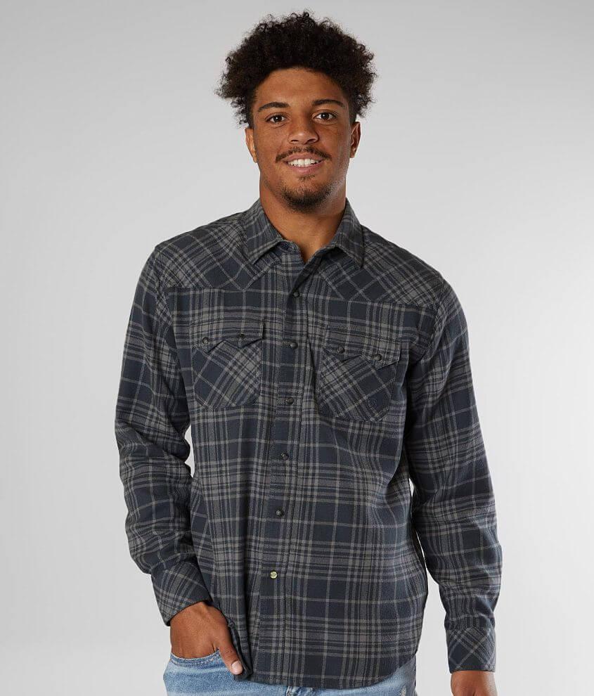 Ariat Karlsen Retro Fit Western Flannel Shirt front view