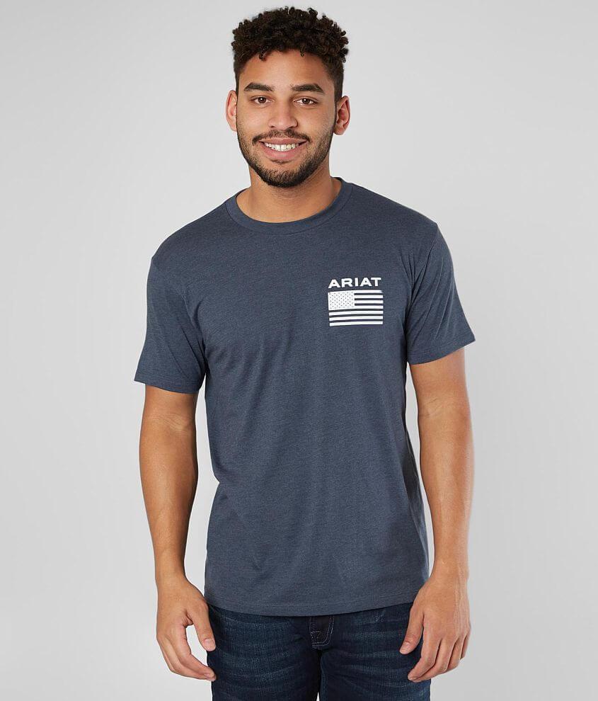 Graphic heathered t-shirt Model Info: Height: 6\\\'0\\\