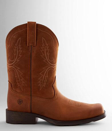 Ariat Country Rambler Leather Cowboy Boot