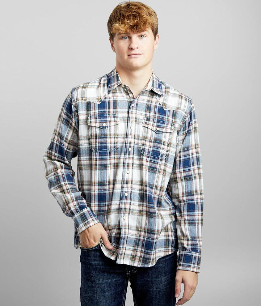 Ariat Hollister Plaid Shirt front view