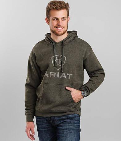 Ariat Rough Grain Hooded Sweatshirt