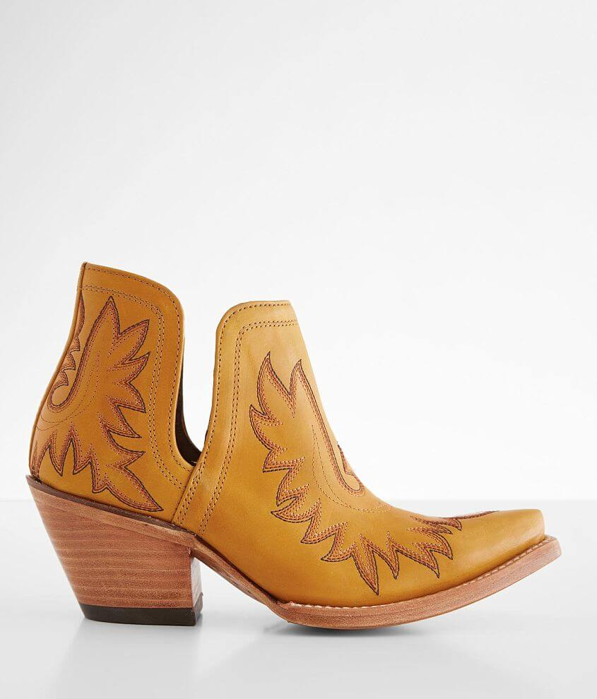 Ariat Dixon Leather Western Ankle Boot front view