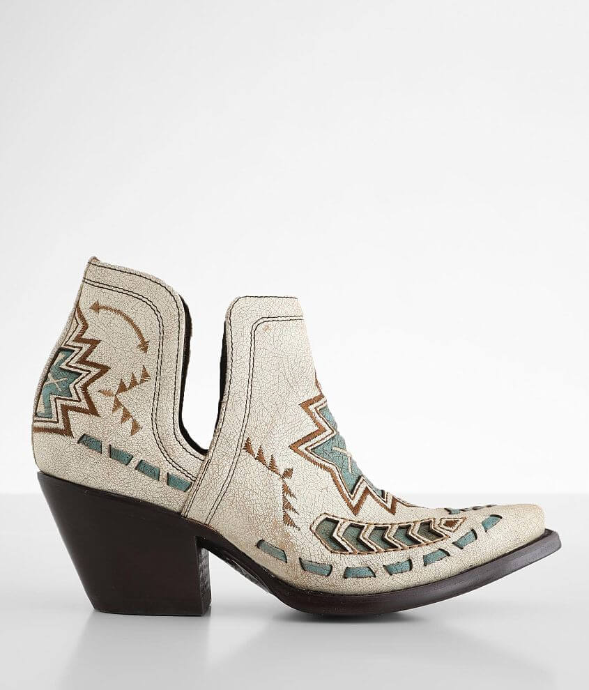 Ariat Dixon Aztec Leather Western Ankle Boot front view
