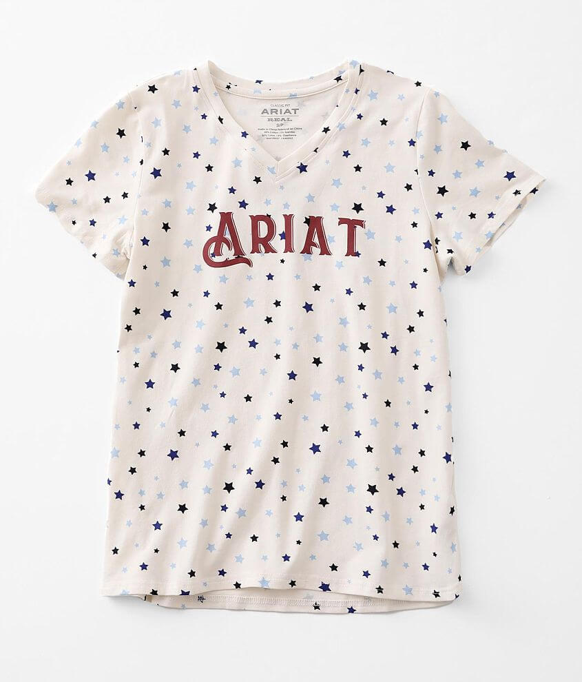 Ariat Real Bespangled T-Shirt front view