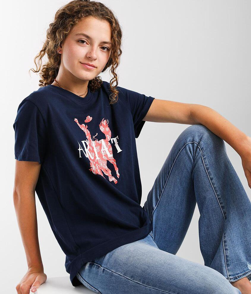 Ariat Real Unbridled T-Shirt front view