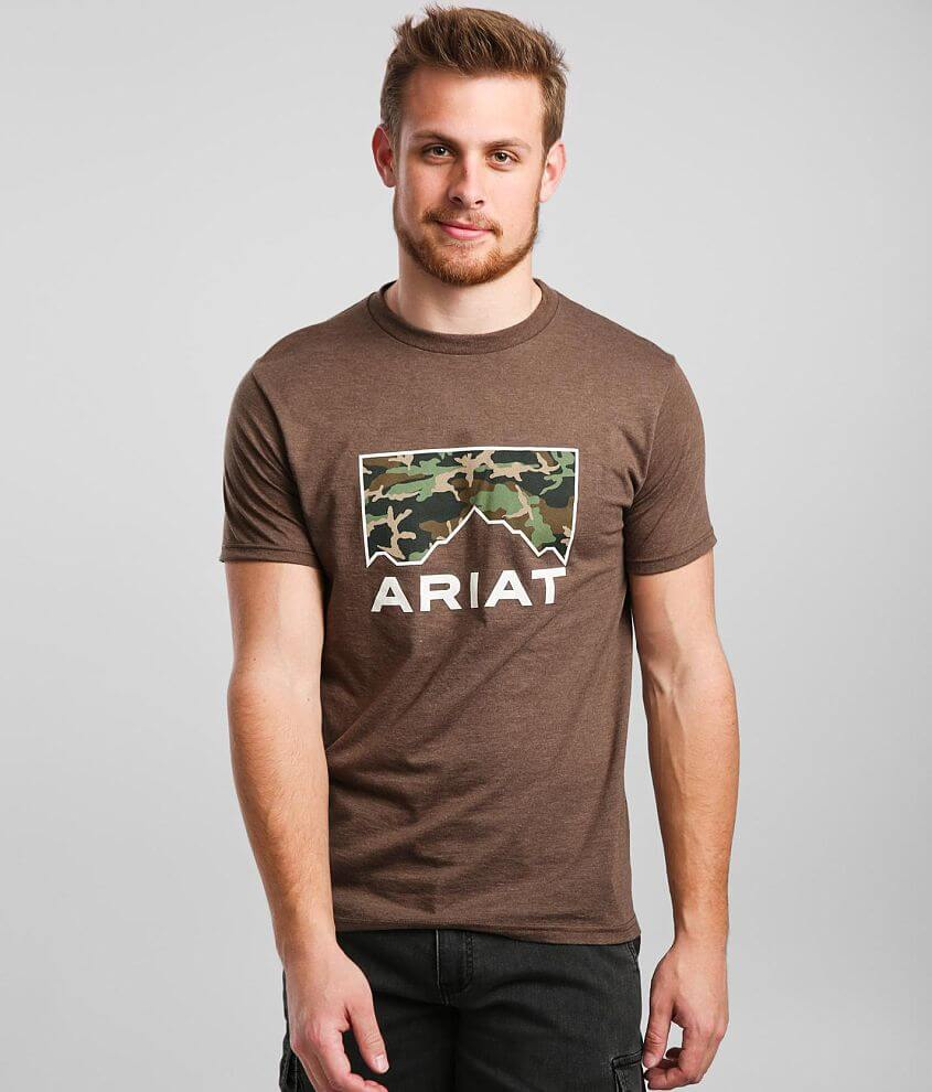 Ariat Peak Camo T-Shirt front view