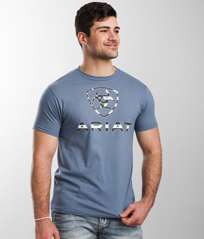 Ariat Flag T-Shirt front view