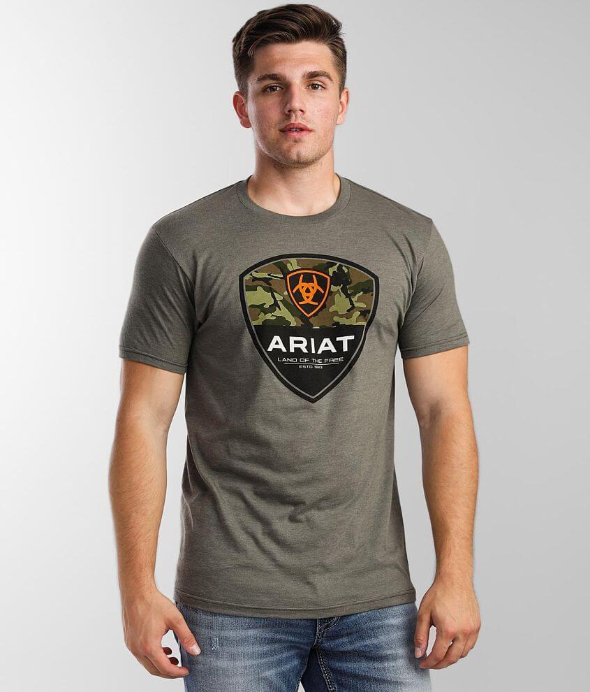 Ariat Split Shield T-Shirt front view