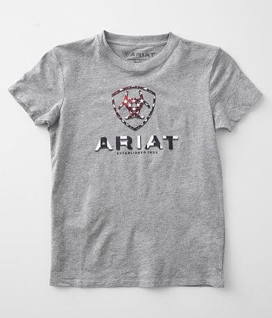 Boys - Ariat Halftone USA T-Shirt