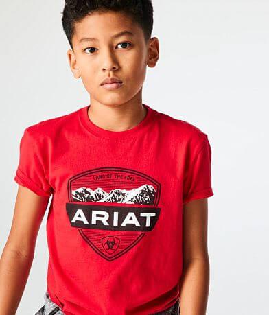 Boys - Ariat Outdoor Crest T-Shirt
