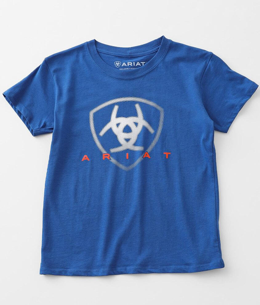Boys - Ariat Halftone T-Shirt front view
