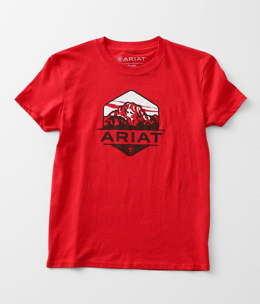 Boys - Ariat Mountain Haze T-Shirt front view
