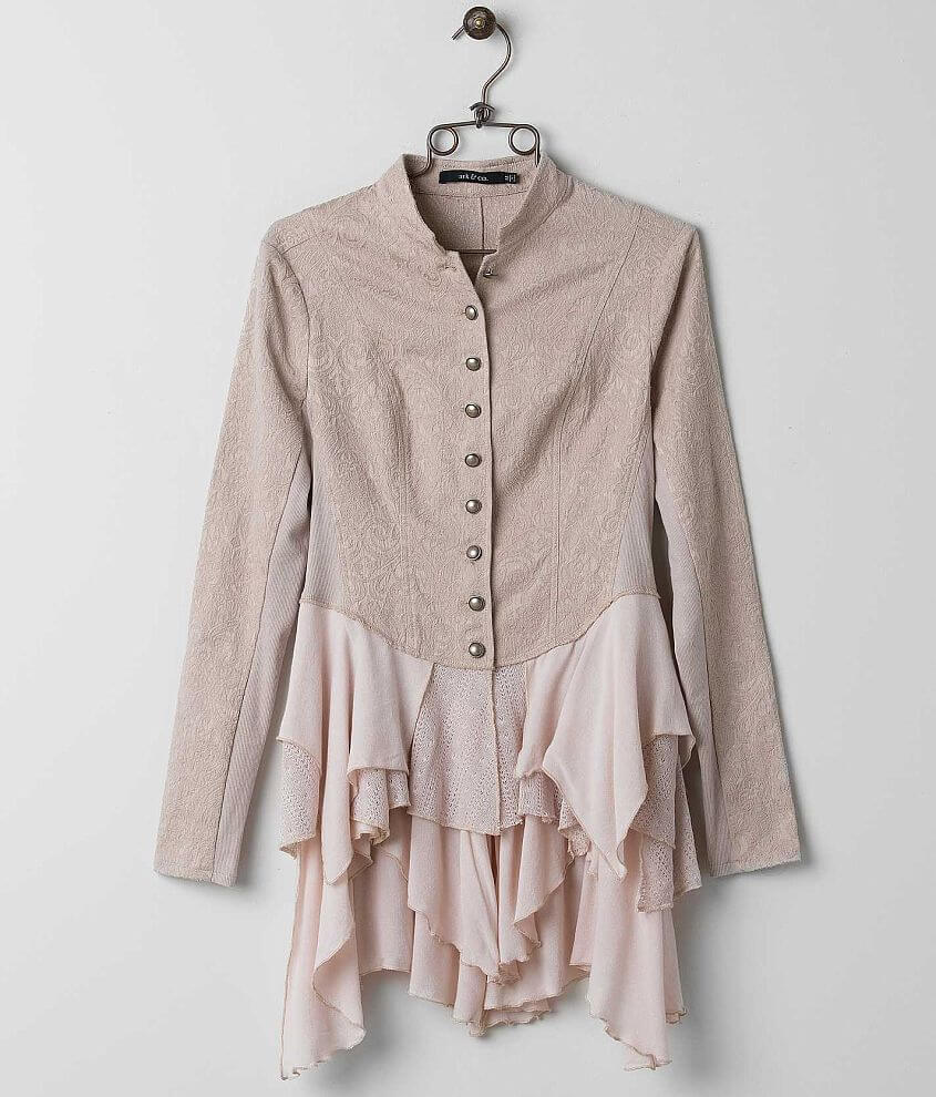 ark & co. Flowy Jacket front view