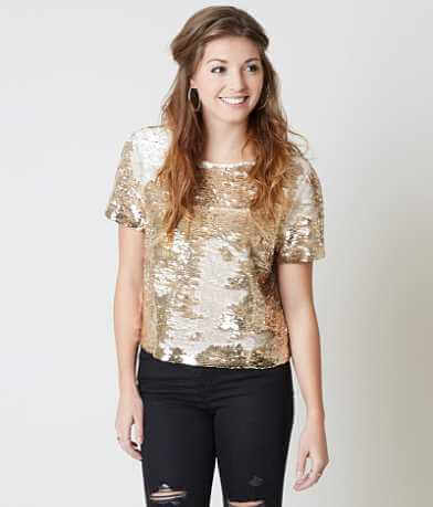 ark & co. Sequin Top