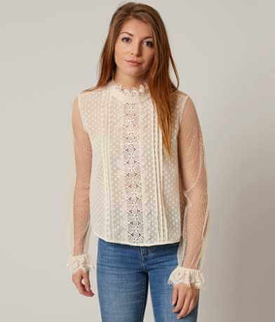 willow & root Chiffon Blouse